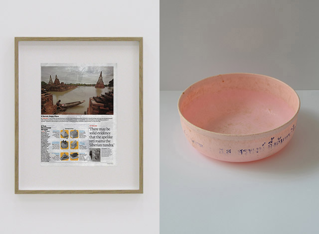 Témoin n°10 (Pink plastic basin from Ayutthaya)