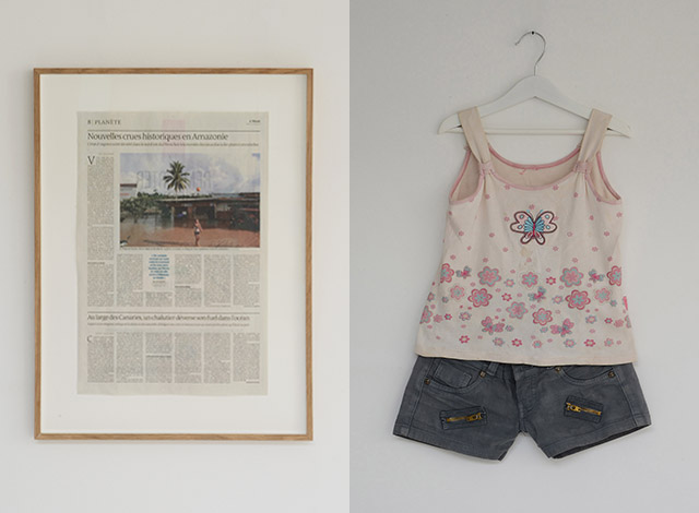 Témoin n°11 (Clothes of a little girl in Amazonia)